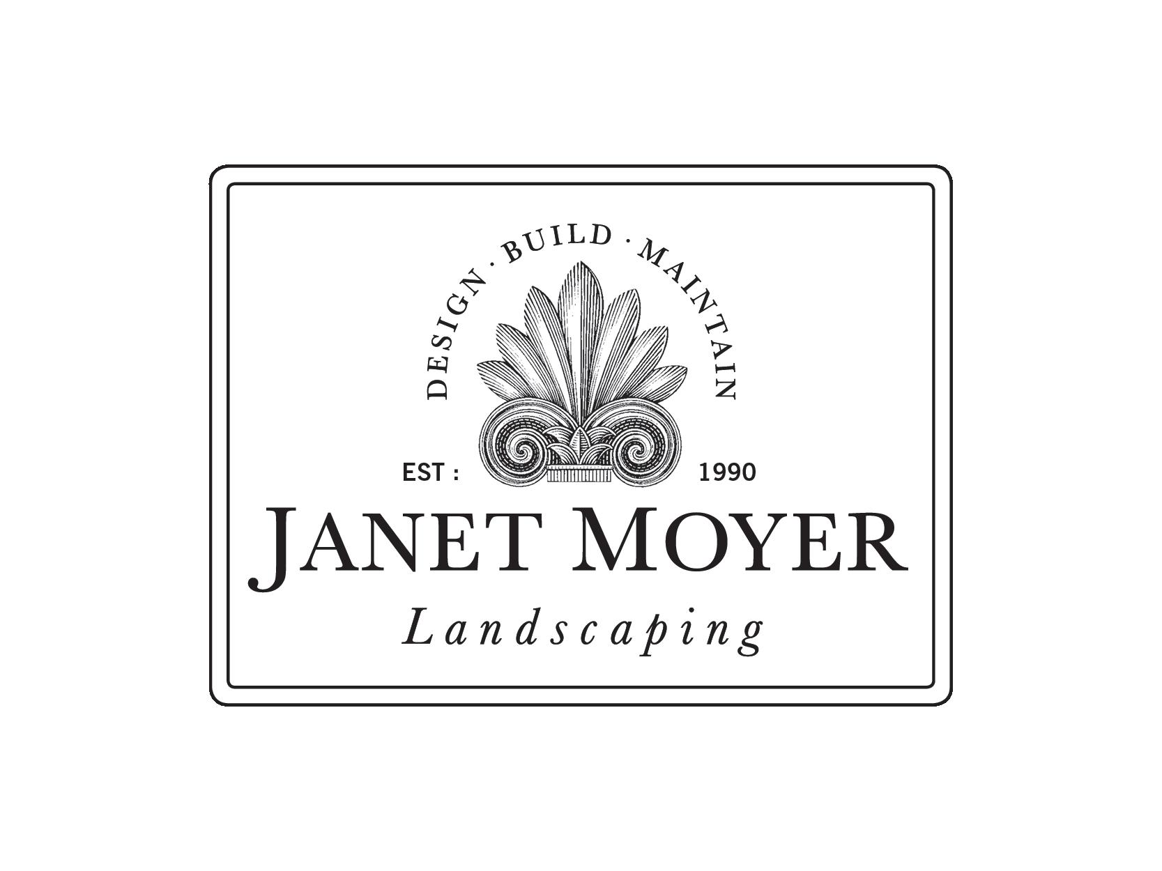 Janet Moyer Landscaping Logo